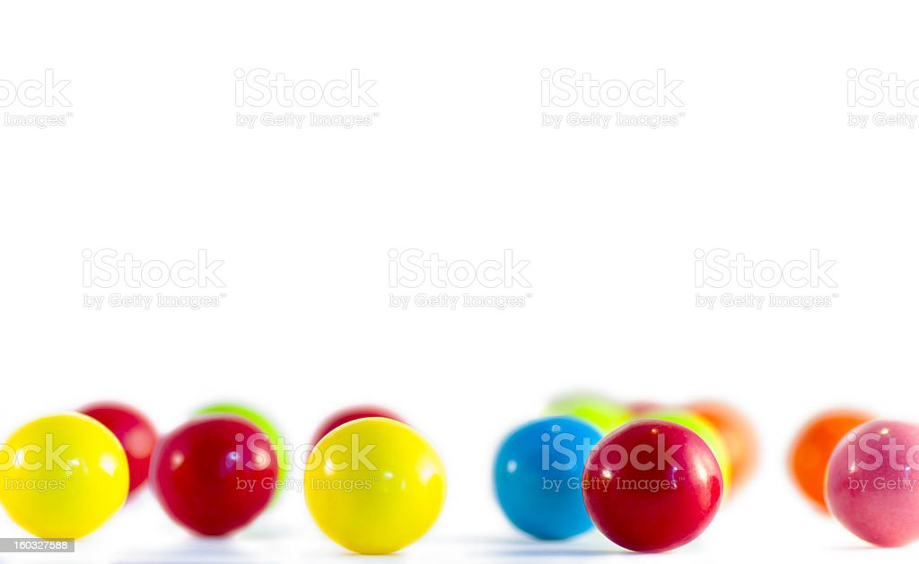 Bubble Gum Pieces royalty-free stock photo
