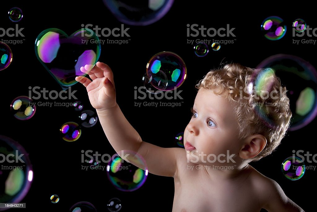 bubble love royalty-free stock photo