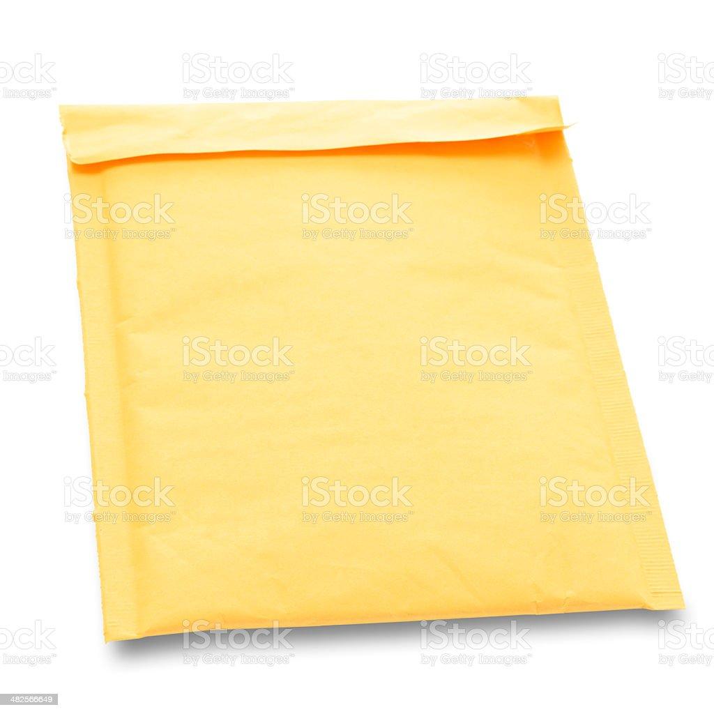 Bubble Mailer Envelope royalty-free stock photo