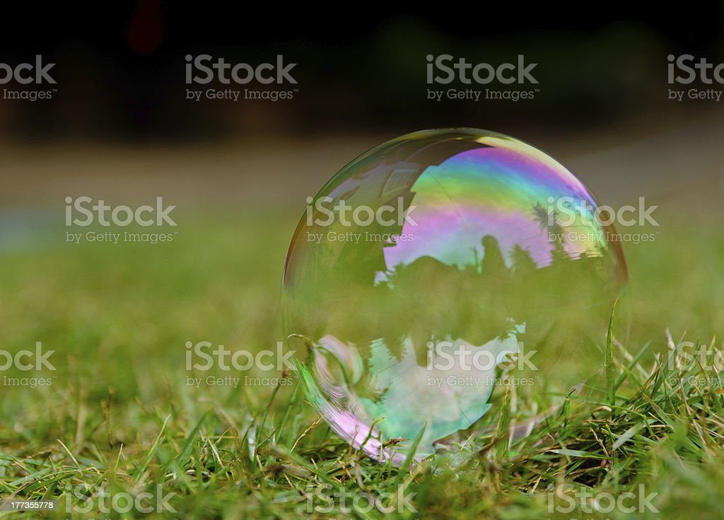 Bubble royalty-free stock photo