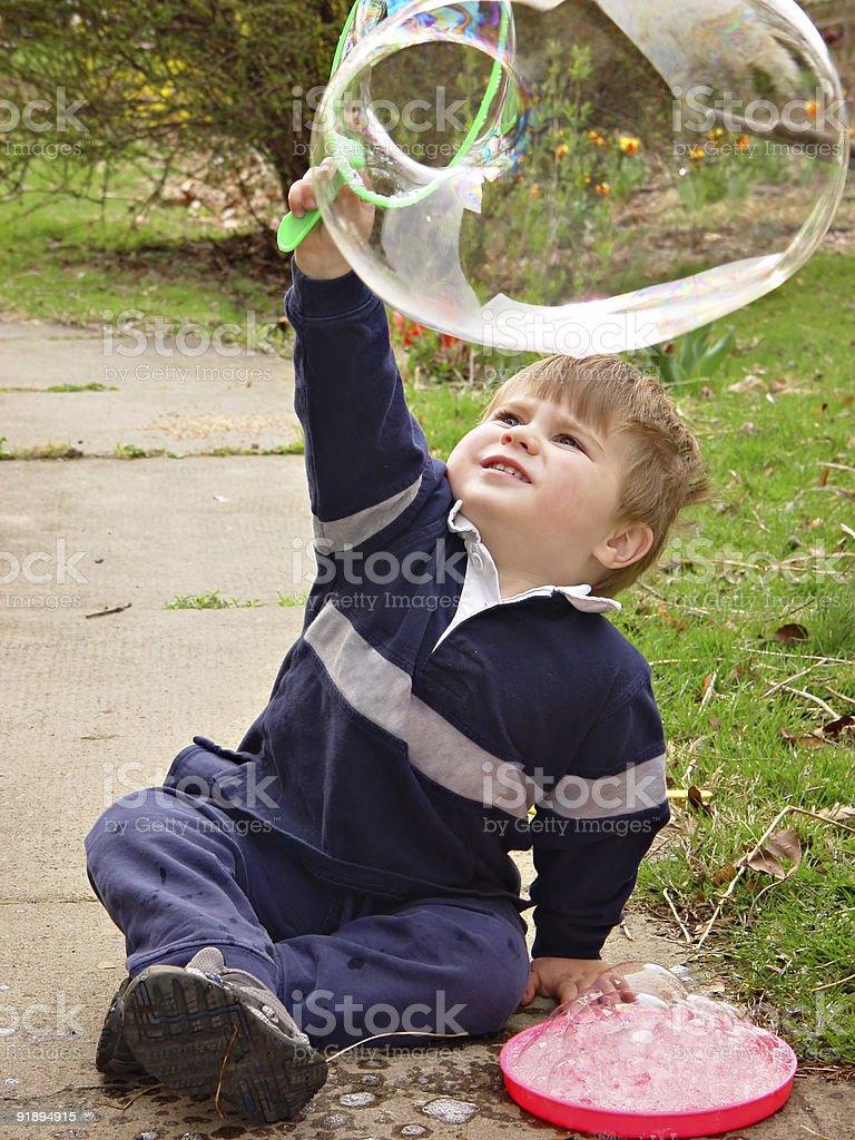 Bubble royalty-free stock photo