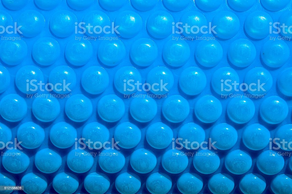 Bubble Pool Cover stock photo