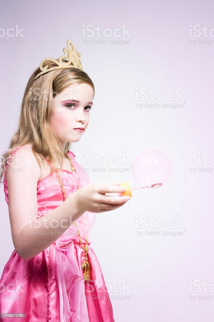 Bubble Princess royalty-free stock photo