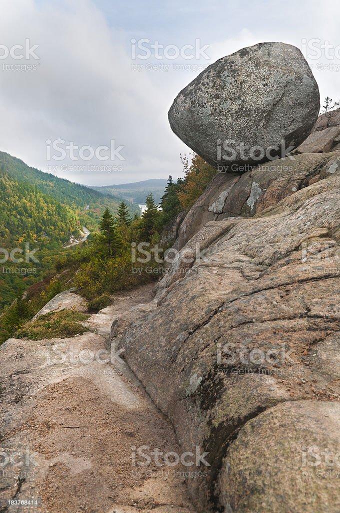 Bubble Rock royalty-free stock photo