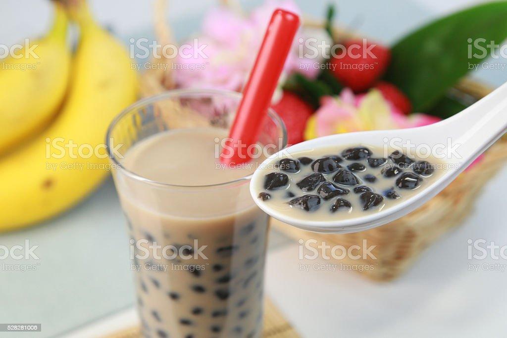 bubble tea stock photo