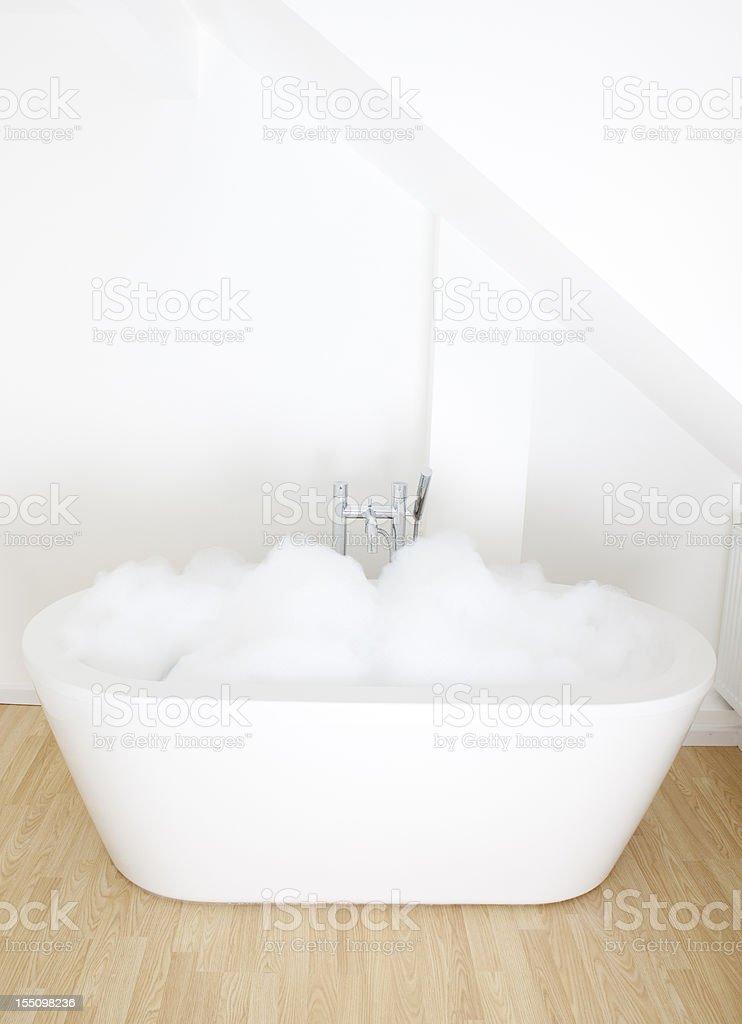 Bubblebath stock photo