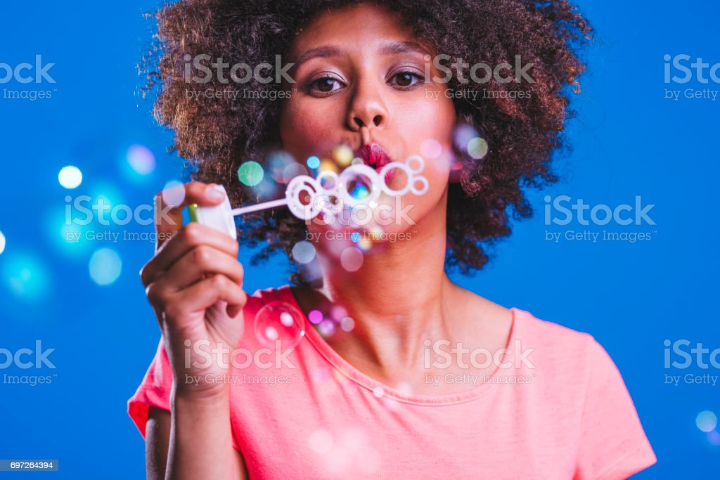 Bubbles are everywhere stock photo