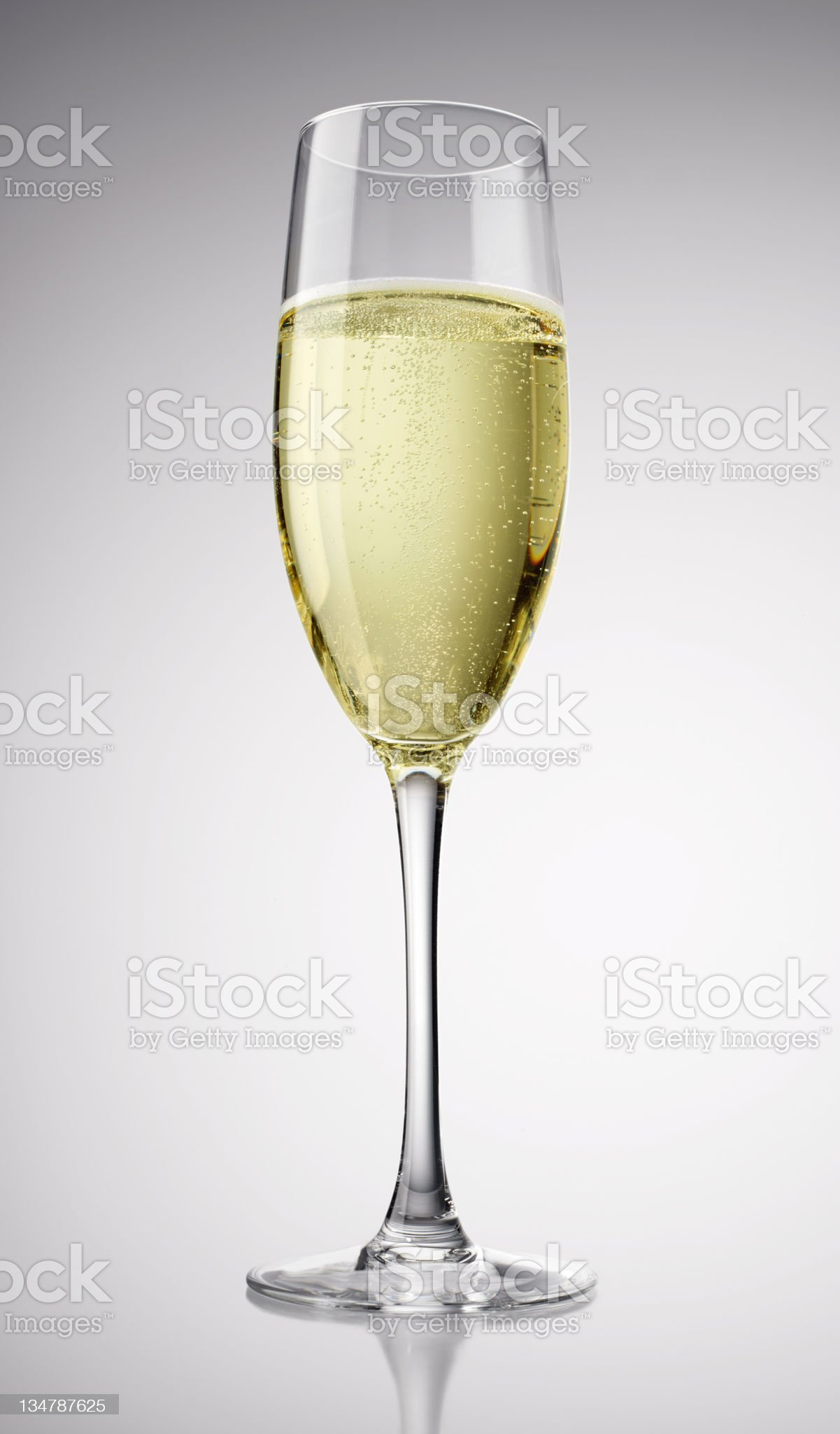 Bubbles of Champagne XXL royalty-free stock photo