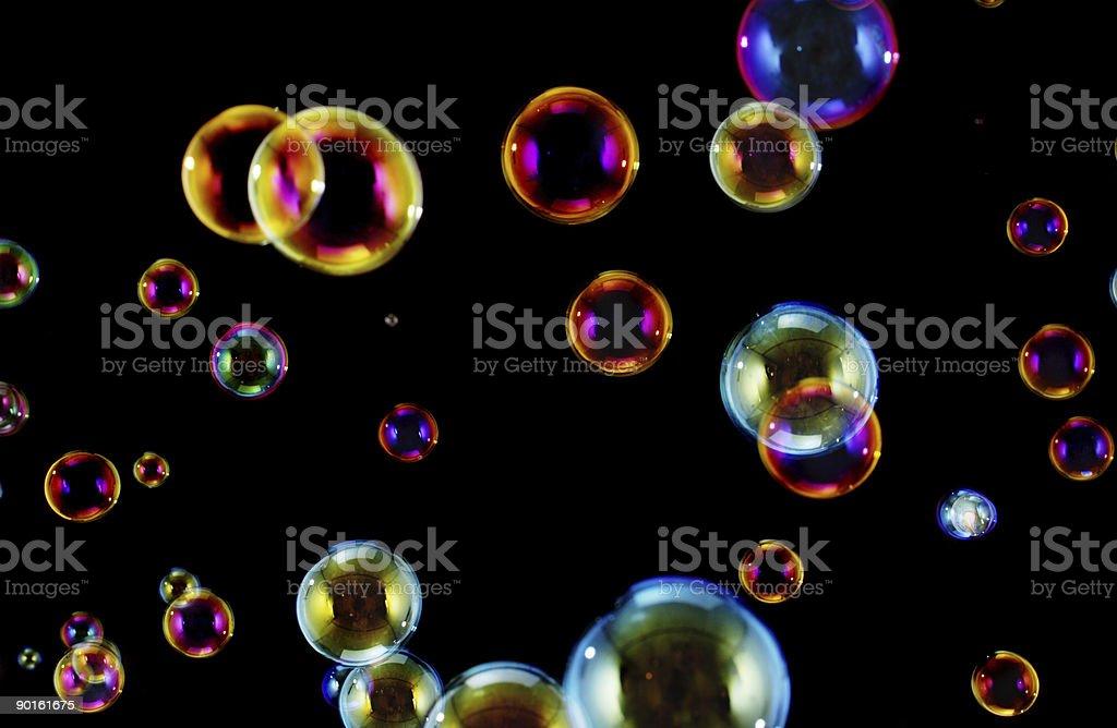 Bubbles texture royalty-free stock photo