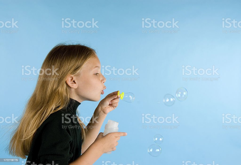 Bubbles-4 royalty-free stock photo