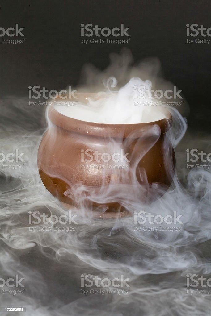 Bubbling Cauldron royalty-free stock photo