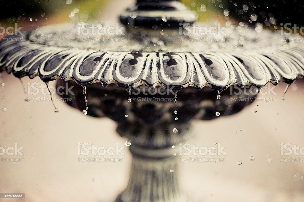 Bubbling Fountain stock photo