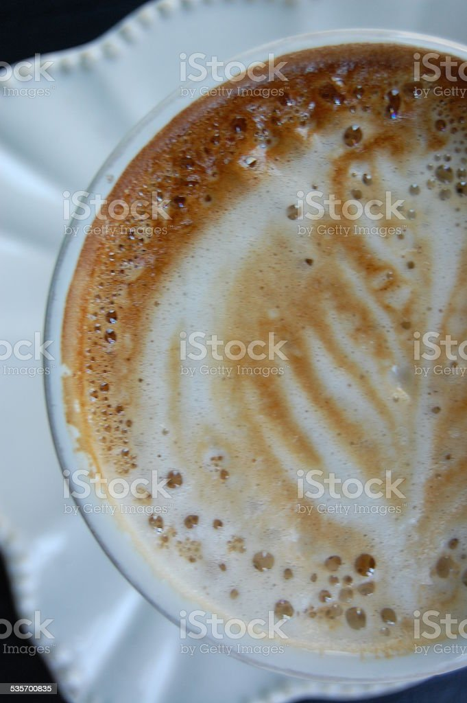 Bubbly Cafe stock photo