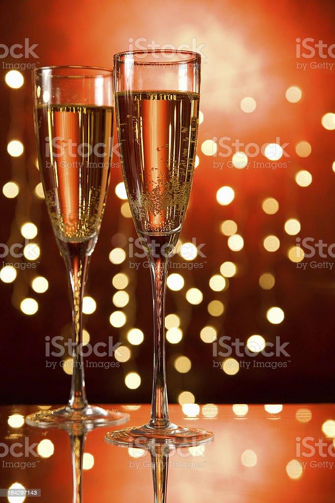 Bubbly drink stock photo