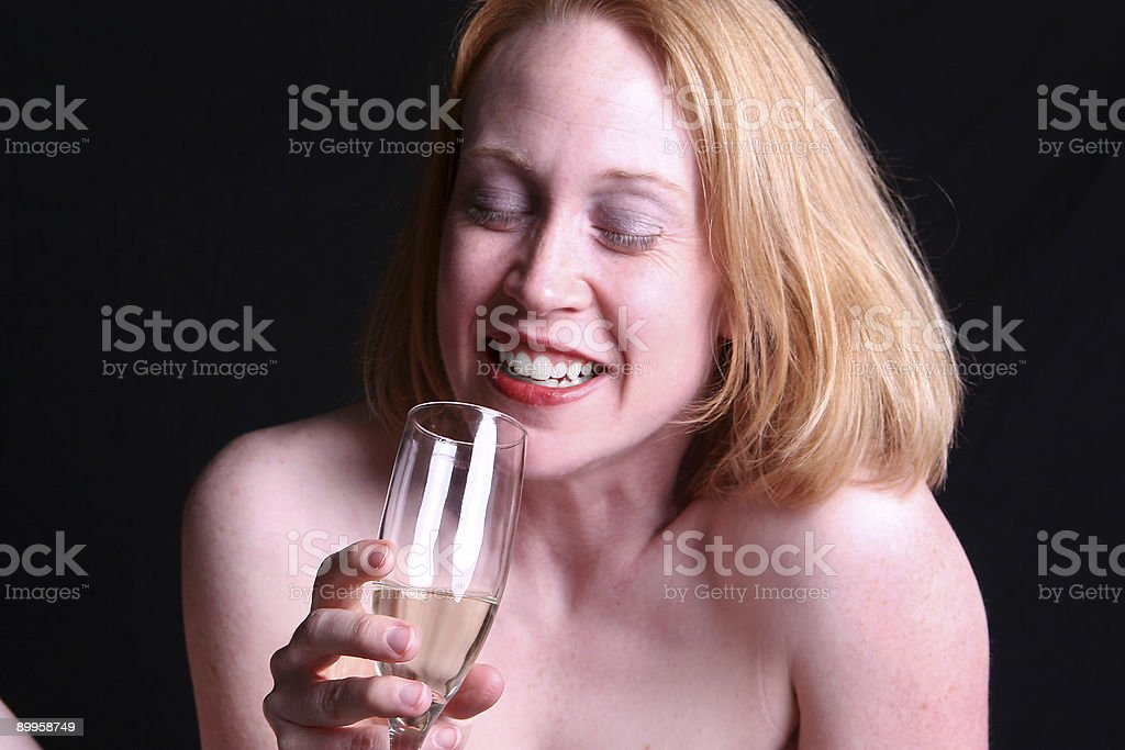 Bubbly. stock photo