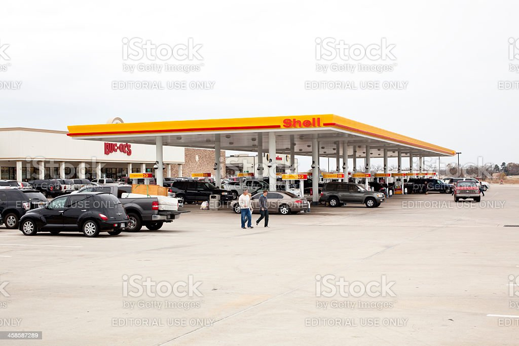 Buc ee s Convenience store with Shell Gasoline pumps royalty free stock  photo  Bucees Convenience. Buc Ees Convenience Stores