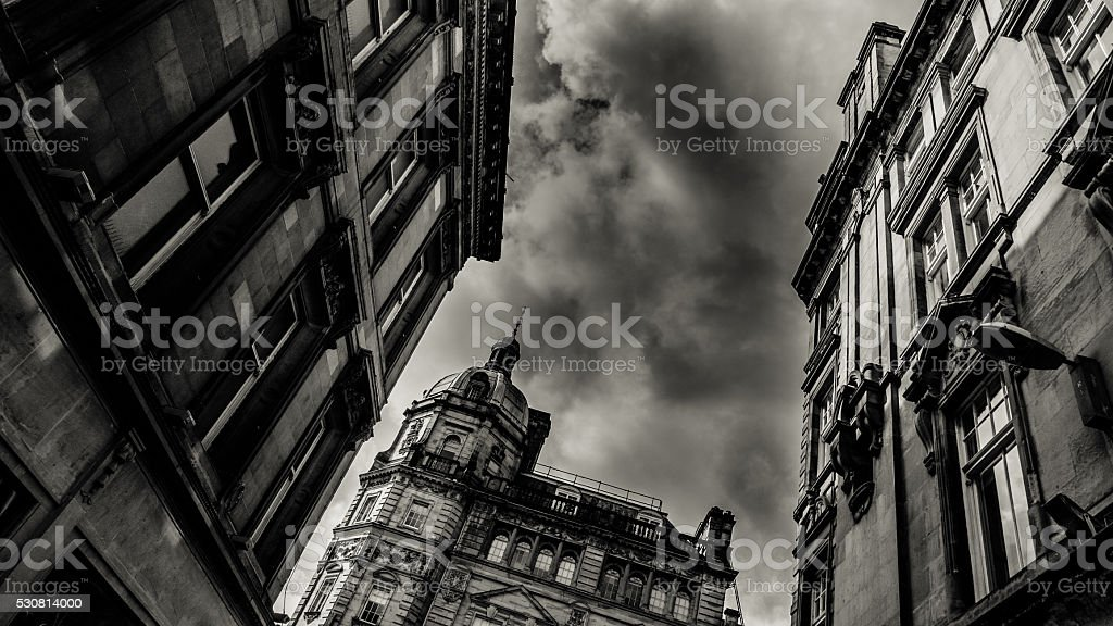 Buchanan Street  In Glasgow stock photo
