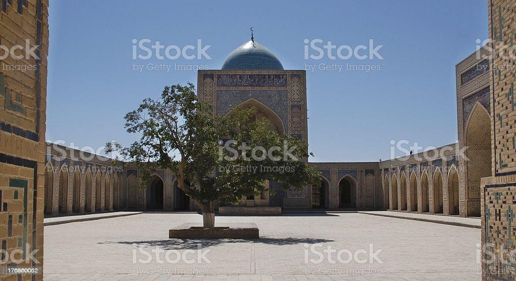 Buchara sightseeing Uzbekistan stock photo