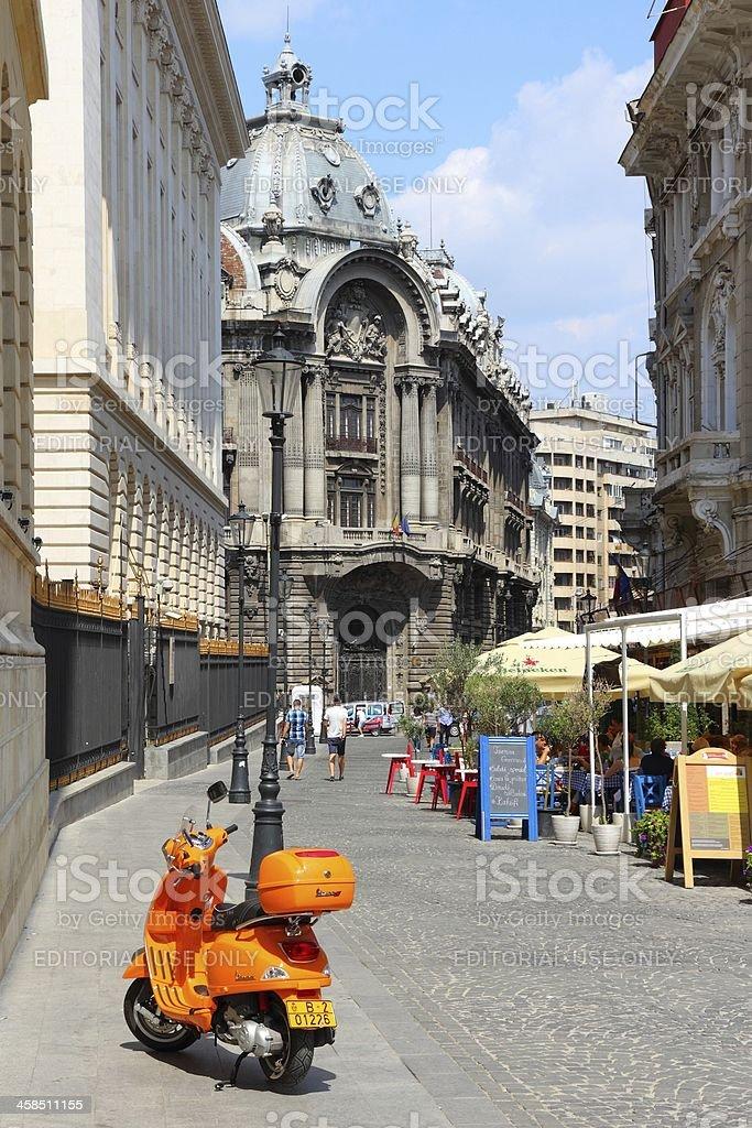 Bucharest royalty-free stock photo