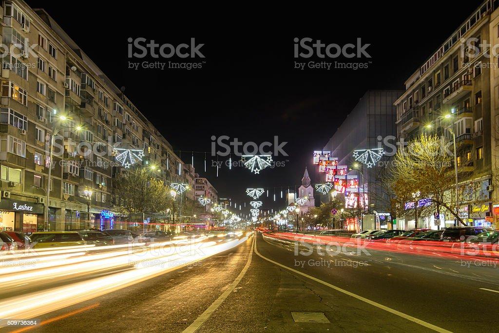 Bucharest, Romania - December 25 stock photo