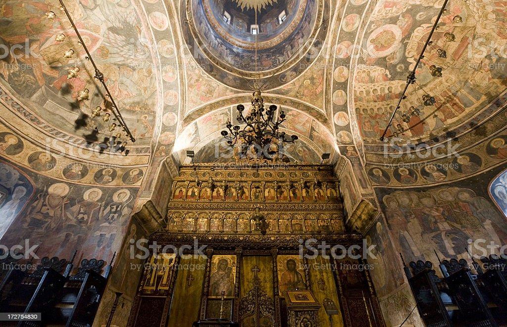 Bucharest, Romania, Orthodox Church stock photo