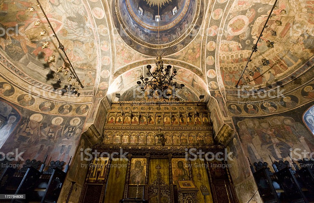 Bucharest, Romania, Orthodox Church stock photo
