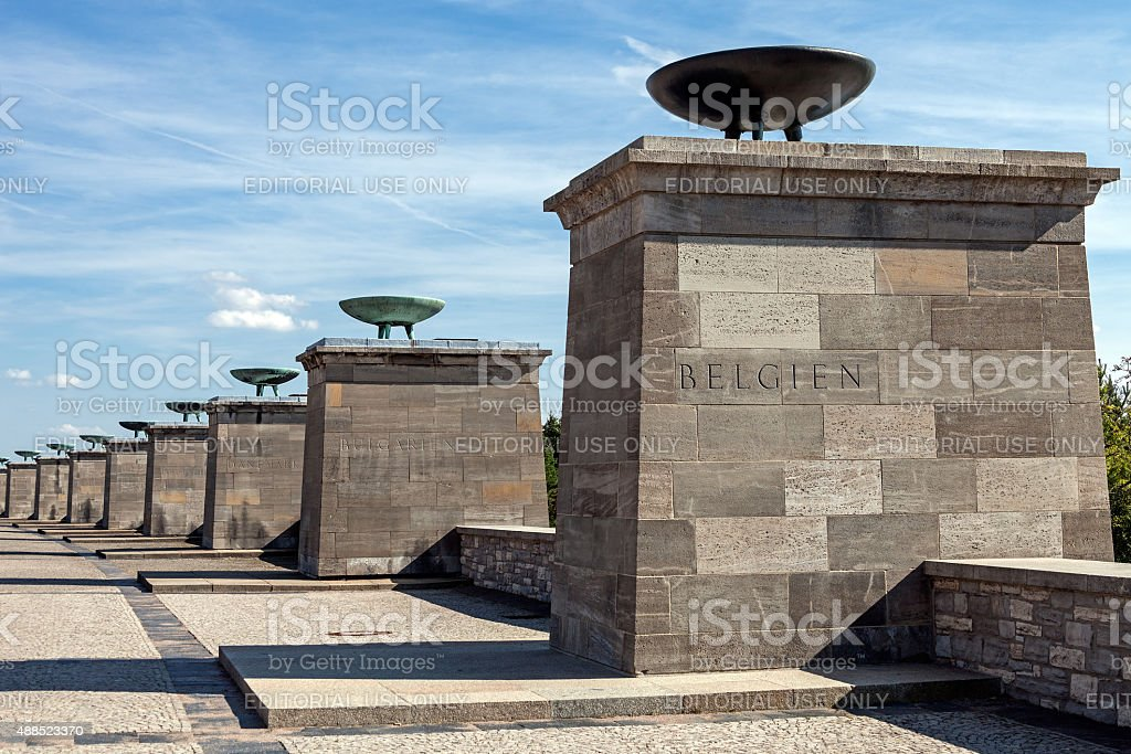 Buchenwald Memorial stock photo