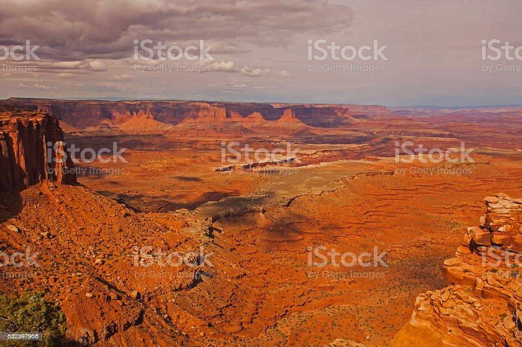 Buck Canyon 1618 stock photo