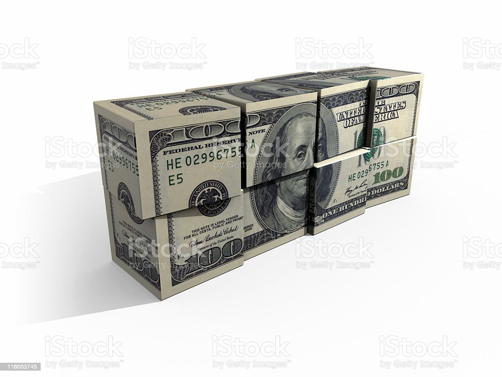 buck cubes royalty-free stock photo