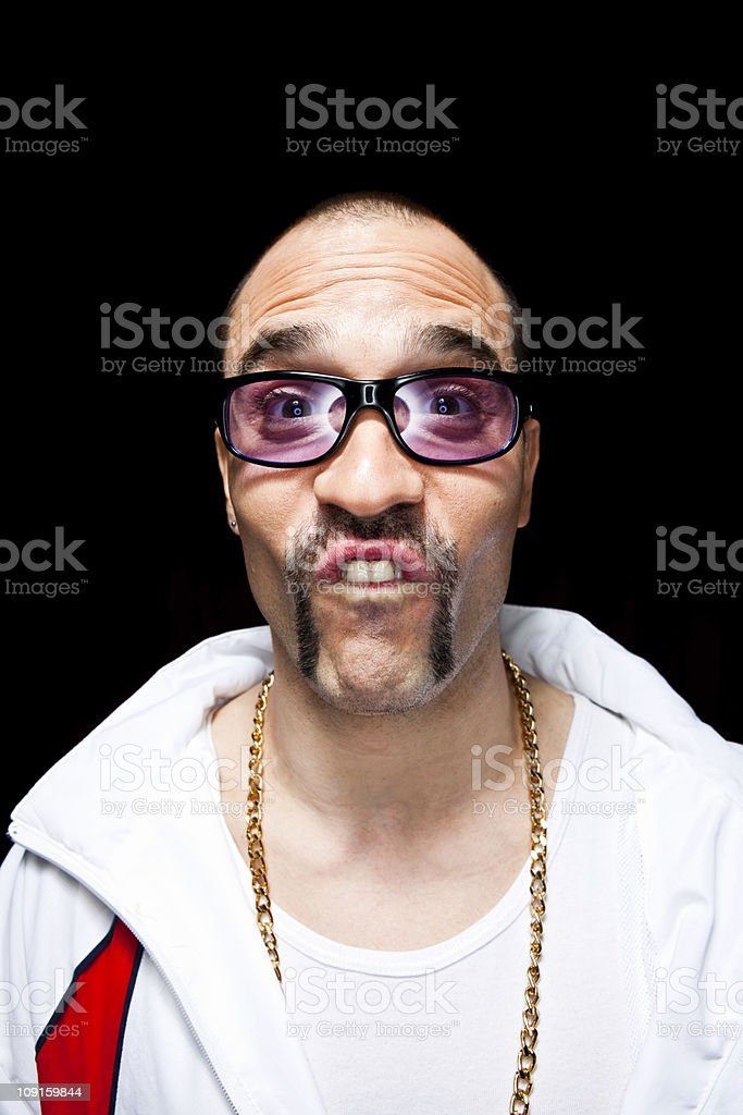 Buck teeth royalty-free stock photo