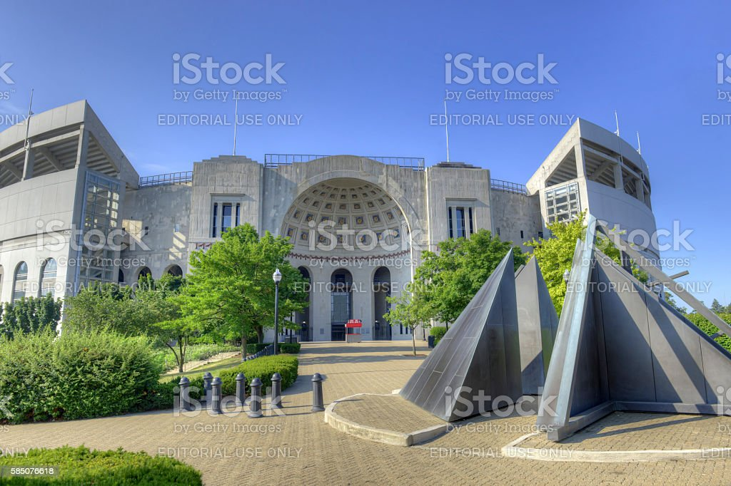 Buckeyes Home stock photo