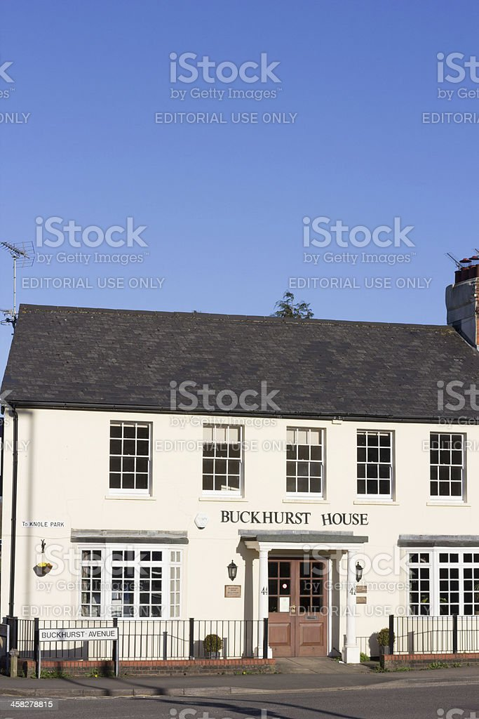 Buckhurst House in Sevenoaks, England royalty-free stock photo