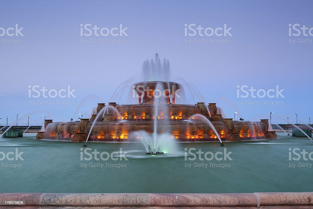 Buckingham Fountain. stock photo