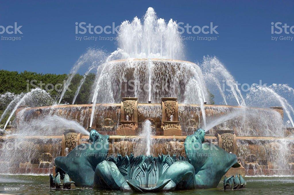 Buckingham Fountain stock photo