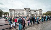 Buckingham Palace in London, UK.