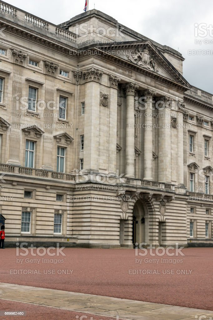 Buckingham Palace London, Great Britain stock photo