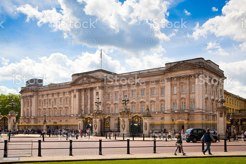 Buckingham Palace, London stock photo
