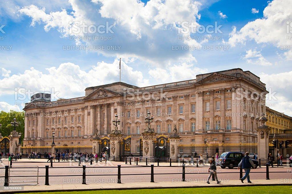 Buckingham Palace, London stock photo