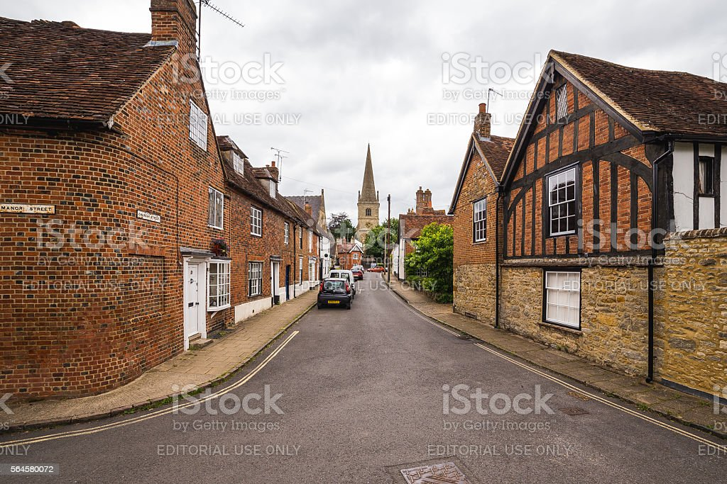 Buckingham Streets stock photo