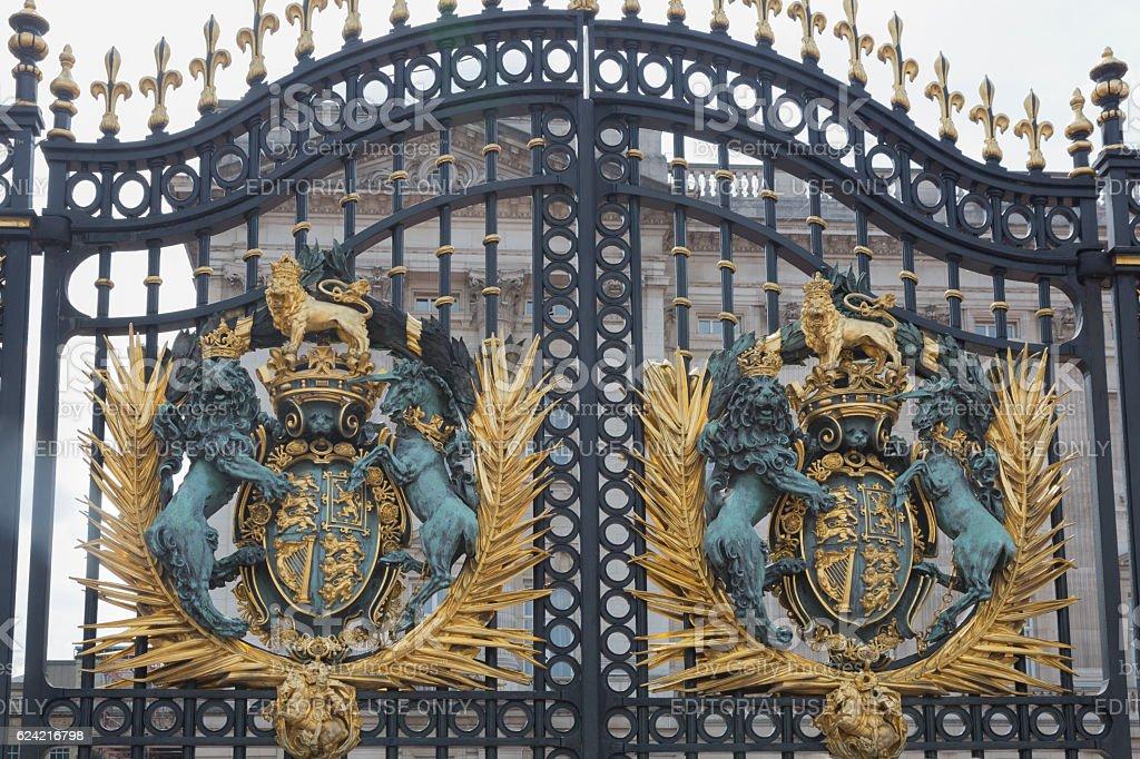 Buckinham Palace stock photo