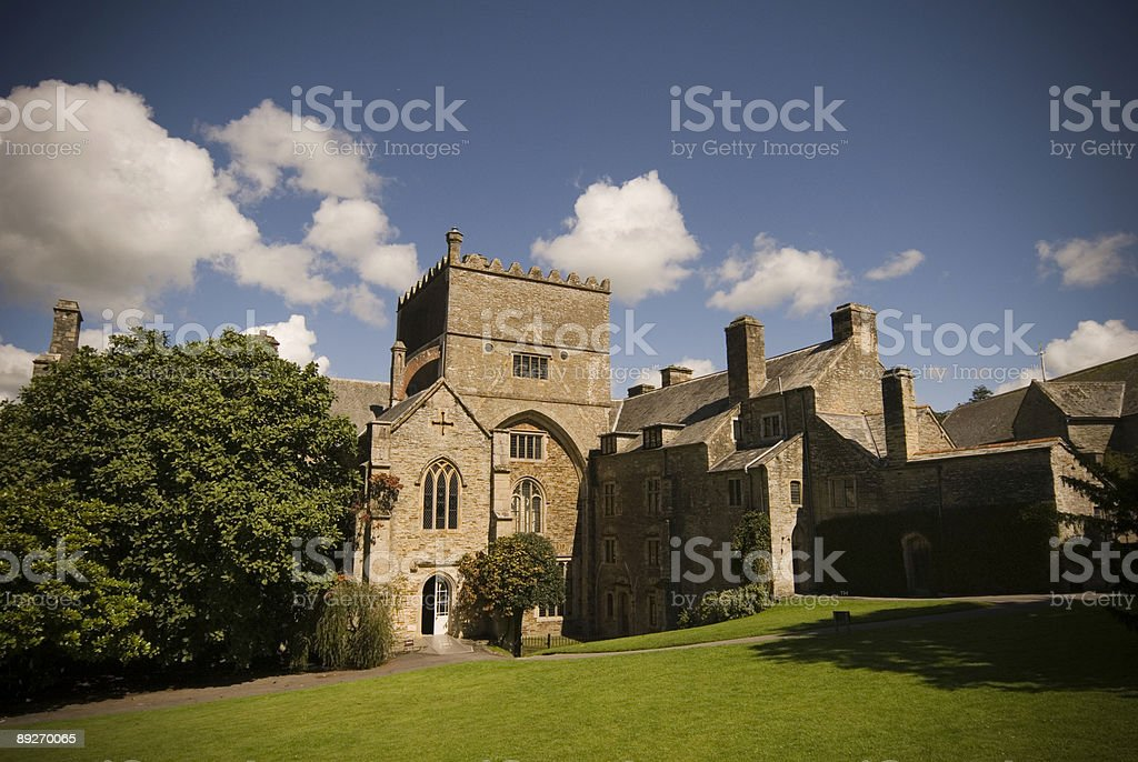 Buckland Abbey stock photo