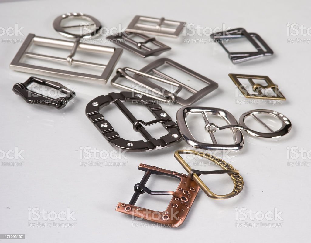 buckle - Sewing accessories royalty-free stock photo
