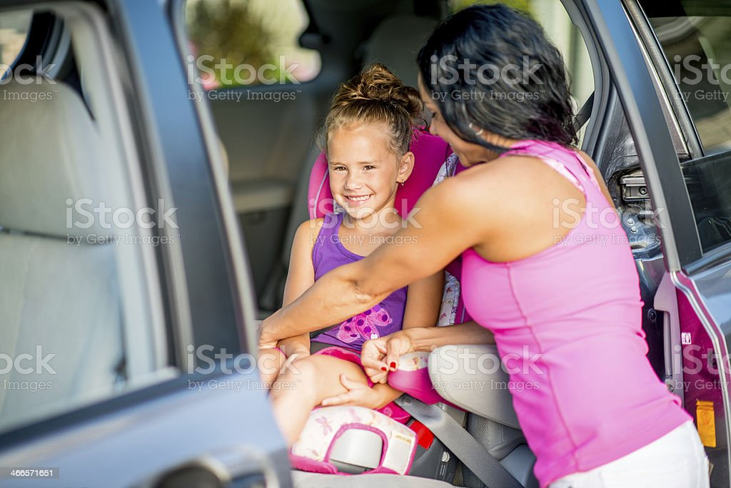 Buckle up for safety stock photo