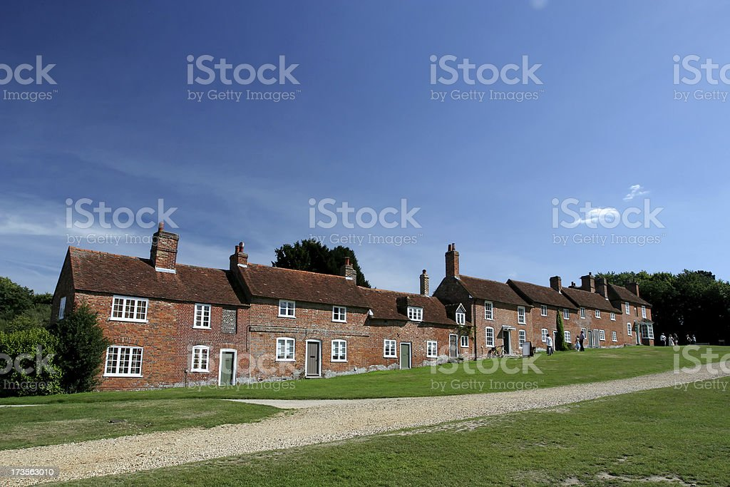 Bucklers Hard, England royalty-free stock photo