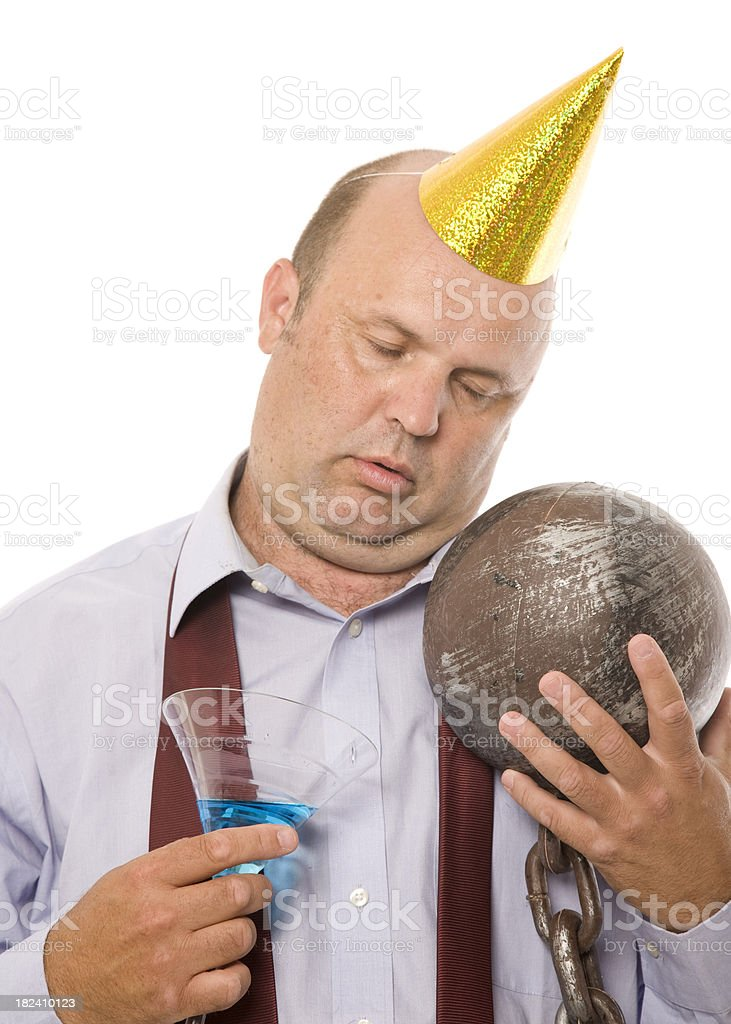 Bucks Party Casualty royalty-free stock photo