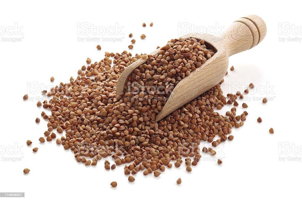 Buckwheat. royalty-free stock photo