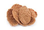 Buckwheat-wheat flakes snack
