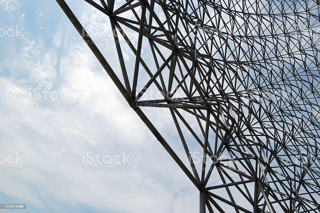 Bucky Dome royalty-free stock photo