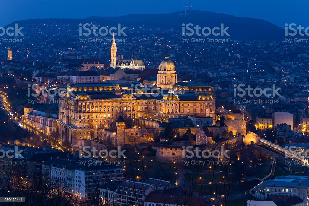 Buda Castle, Budapest, Hungary stock photo