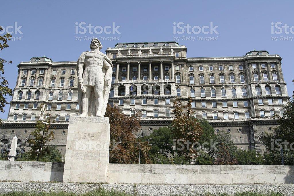 Buda Castle royalty-free stock photo